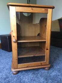 Solid Pine Stereo Unit