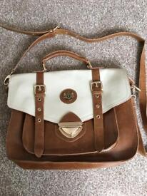 LYDC LONDON leather satchel bag