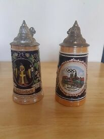 Collectable steins