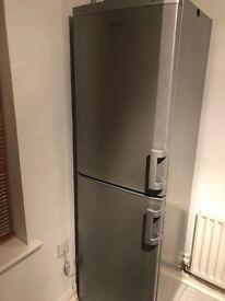 Silver Beko Fridge Freezer