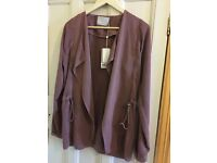 Very Lightweight Jacket in Gorgeous Rose Color