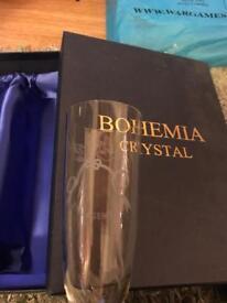 Bohemia crystal glasses