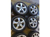 "16"" GENUINE HONDA CIVIC ALLOY WHEELS WITH TYRES SET OF 4"