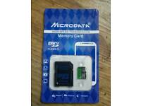 Microdata 32GB Micro SD Card - Brand New in Retail Pack