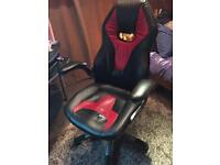 Black and Red Gaming chair