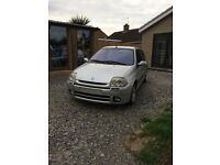 Renault Clio 172 phase 1 track car