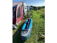 Inflatable 2 person kayak