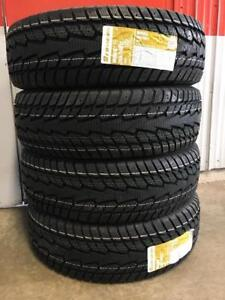 Super sale!! NEW  265/70R17 winter truck tires