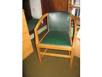 Office chair - wooden