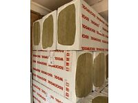 1 Pallet (12 Packs) Rockwool RW3 100mm 60kg/m3 Acoustic Insulation Slab 34.56sqm