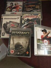 PS3 Games x6