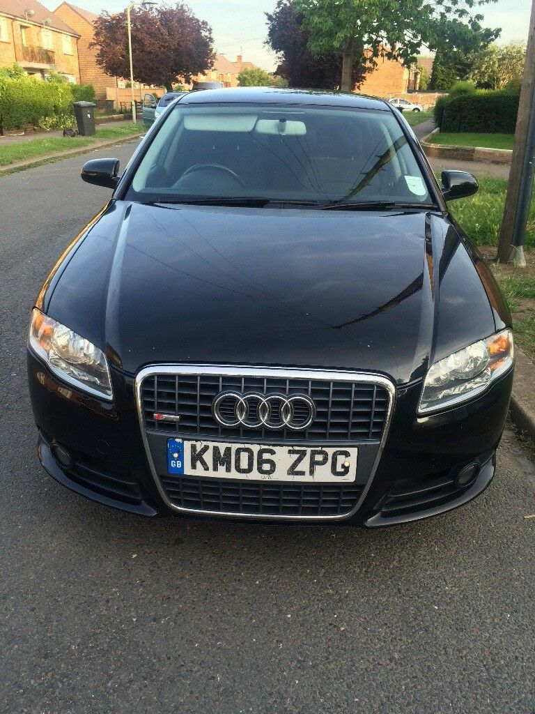 Audi A4, sline auto, FSH, new cambelt, water pump, egr valve etc, phone number in description