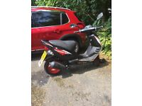 Nearly new low mileage motor scooter for sale