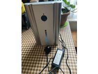 Blyss Mini Portable Dehumidifier 300ml Silver Model EPI608A Used