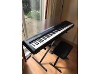 Yamaha P-95 Digital Piano with Stand , Foot Pedal and Chair