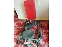 Rowing machine - hydraulic