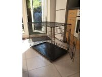 Metal dog crate/kennel