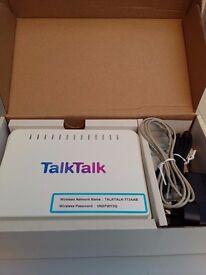 Free TalkTalk modem