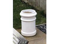 Pair of chimney pots - garden planters