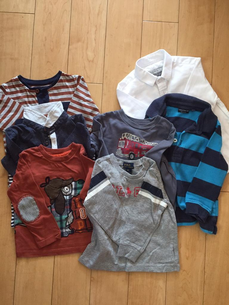 12-18 Month long sleeved tops