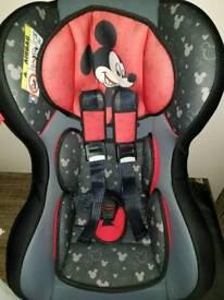 Disney mickey mouse car seat