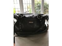 Storksak Changing Bag (brown leather)