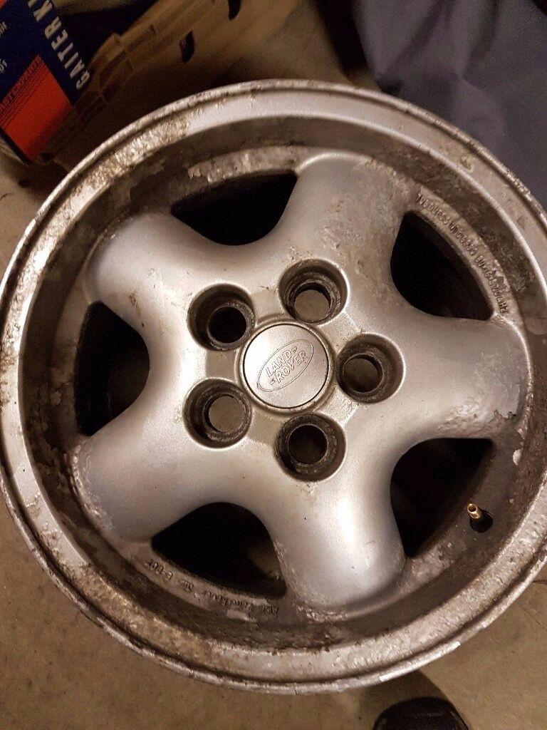 "Range Rover P38 16"" alloys"