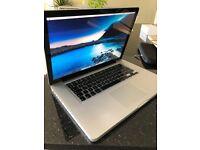 Macbook Pro 15-inch (mid-2012) Silver Intel Core i7 - 16gb RAM / 500GB SSD