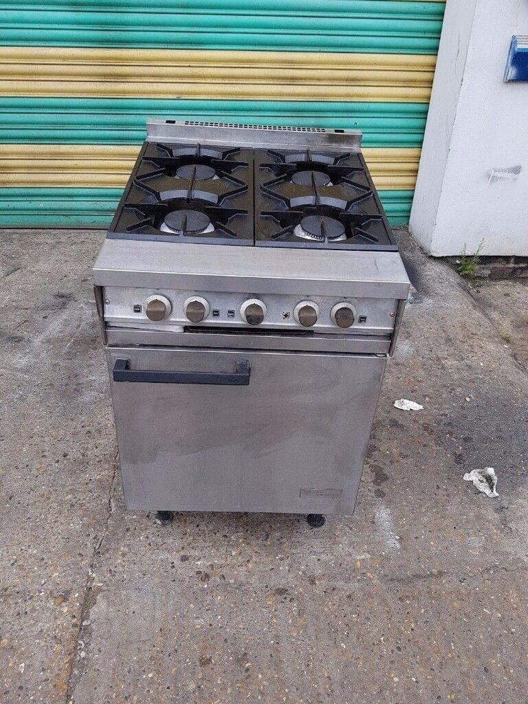 Falcon commercial 4 four burner LPG cooker oven range heavy duty for catering