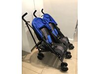Obaby Apollo Twin Stroller