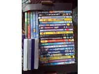 A bundle of Children's DVD's - 30 in total