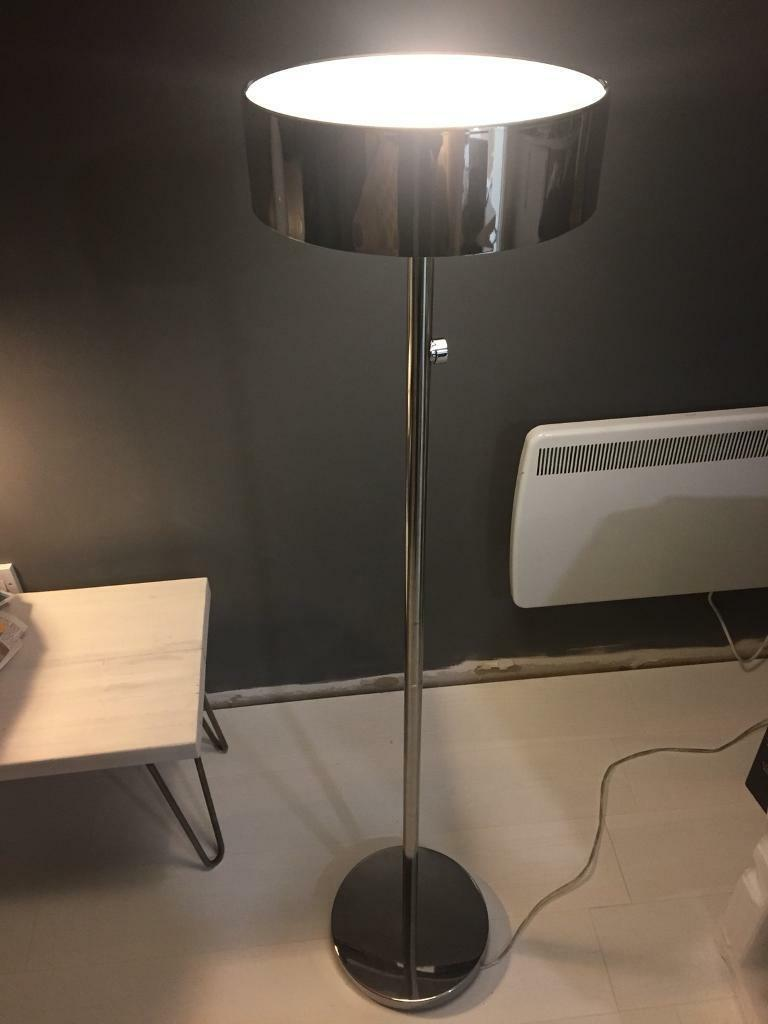 Ikea Stockholm 2017 Chrome Plated Floor Lamp In West End