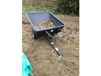 Large two wheel tipping barrow