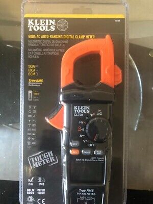Klein Tools Ac Auto-ranging Trms Digital Clamp Meter