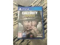 Call Of Duty WW2 PS4 game.