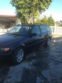 Bmw 320d touring, left hand drive, lhd Spanish registered