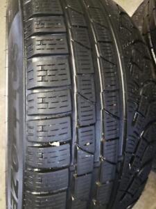 2 pirelli sottozero winter 240 225/40r18 winter tires