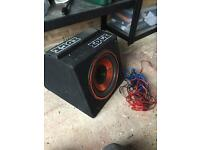 Edge sub with amp built in