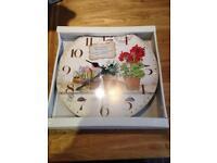 Kitchen / Garden clock
