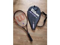 Wilson tennis racket like new