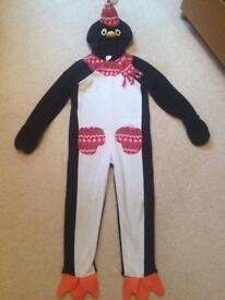 Penguin onesie/fancy dress 5-6