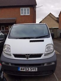 Vauxall vivaro spares or repairs