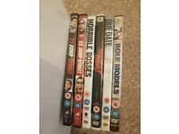 6 comedy dvds for sale