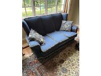 Large Vintage 3 Seater Sofa