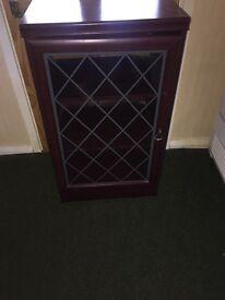Cabinet with glass door