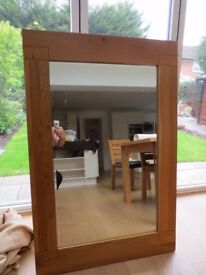 Marks and Spencer Oak Wall Mirror