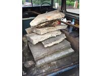 Rubble - slabs and concrete