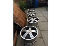 Land Rover 16 inches Alloy FOX RIMS(set of 4)