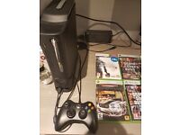 Xbox 360 with games 250GB