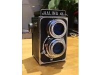 Vintage Halina TLR medium format camera
